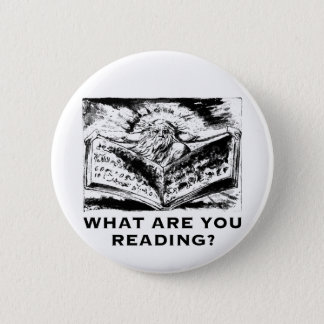 What Are You Reading Urizen 2 Inch Round Button