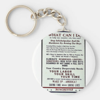 What Can I Do Keychain