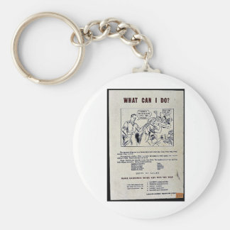 What Can I Do? Key Chain
