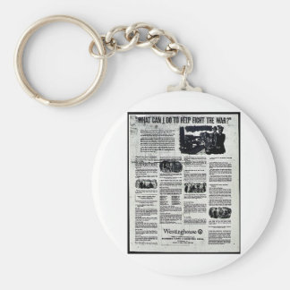 What Can I Do To Help Fight The War? Key Chain