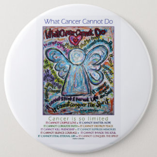 What Cancer Cannot Do Poem Pins or Buttons