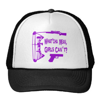 What'Cha Mean Girls Can't? Mesh Hat