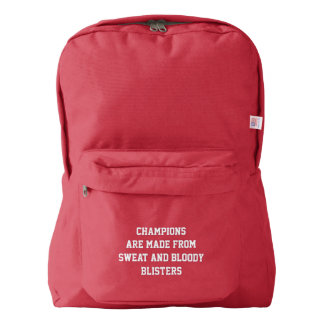 What Champions Are Made Of Backpack