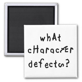 What Character Defects Magnet