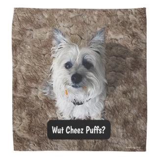 What Cheese Puffs? Bandana