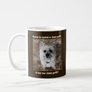 What Cheese Puffs? Mug