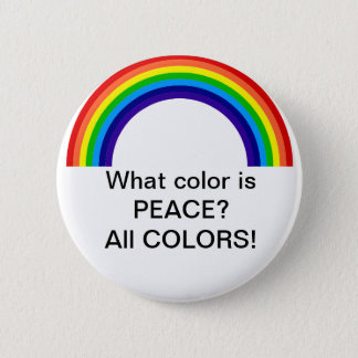 What color is Peace? 2 Inch Round Button
