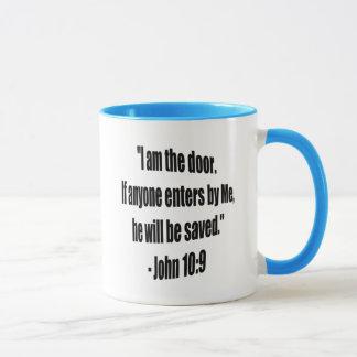 What Did Jesus Say: I Am the Door Mug