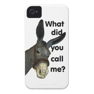 What did you call me? iPhone 4 cases