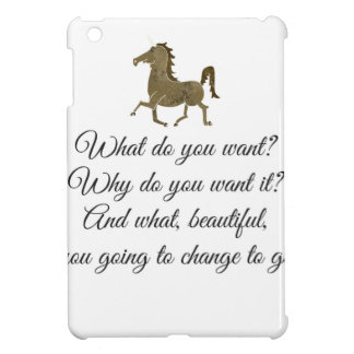 What do you want unicorn? case for the iPad mini
