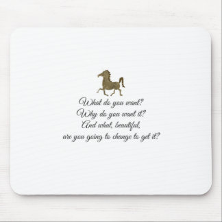 What do you want unicorn? mouse pad