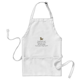 What do you want unicorn? standard apron