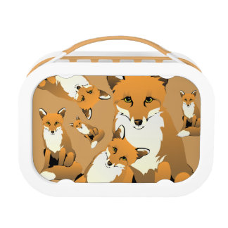 What Does the Fox Eat? Lunch Box
