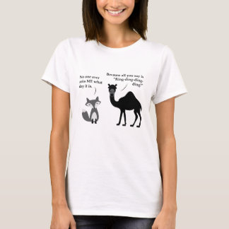 What does the fox say about Hump Day? T-Shirt