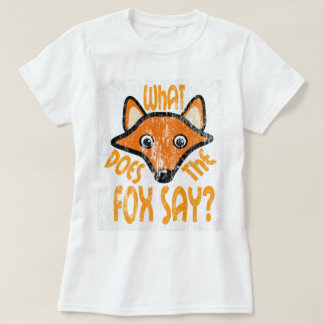 What Does the Fox Say DS T-Shirt
