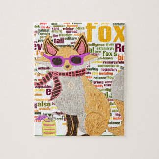 What does the fox say jigsaw puzzle
