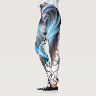 What Dreams Are Made Of GeomatCLR Leggings