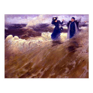 What Freedom! by Ilya Repin Postcard