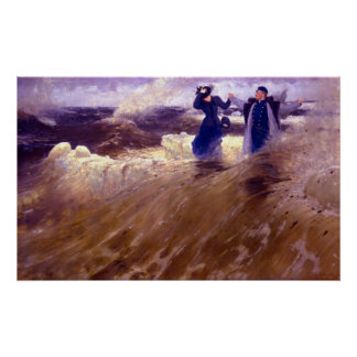 What Freedom! by Ilya Repin Poster