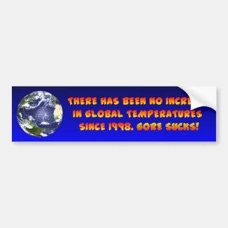 What Global Warming? Bumper Sticker