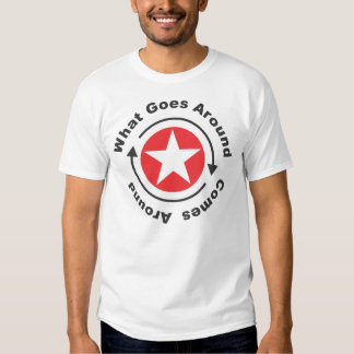 What Goes Around Comes Around. Shirts