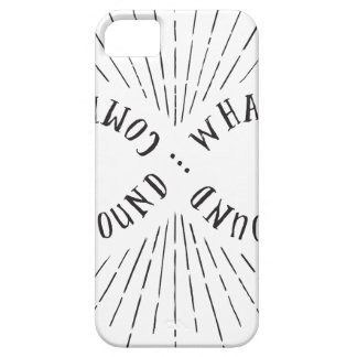What goes around ... comes back around iPhone 5 cover