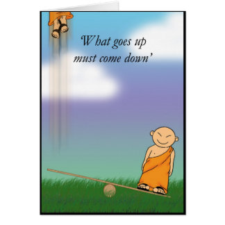 What goes up.... card