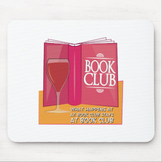 What Happens At Book Club Mousepad