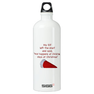 What happens at Christmas stays at Christmas SIGG Traveler 1.0L Water Bottle