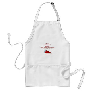What happens at Christmas stays at Christmas Standard Apron