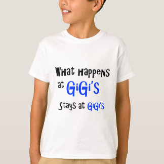 What happens at GiGi T-Shirt