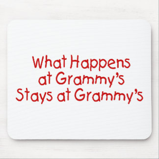 What Happens At Grammys Red Mouse Pad
