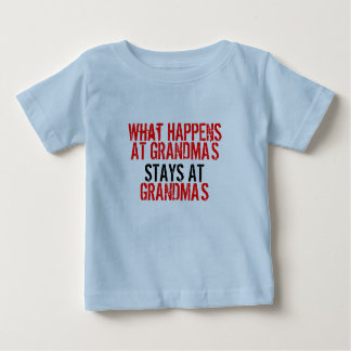 """What happens at Grandmas"" T-Shirt"