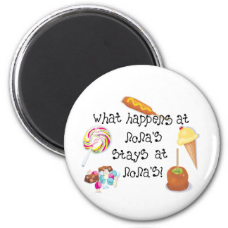 What Happens at Nona's STAYS at Nona's! Magnet