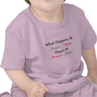 What Happens At Nonna's House Baby Apparel Shirts