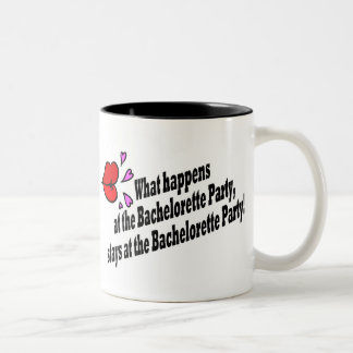 What Happens At The Bachelorette Party... Two-Tone Coffee Mug