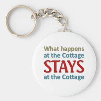 What happens at the cottage keychain