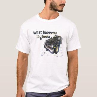 What happens in a Vega T-Shirt