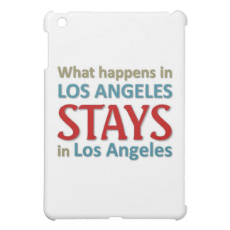 What happens in Los Angeles iPad Mini Covers