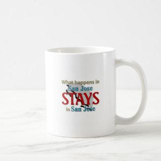 What happens in San jose Coffee Mug