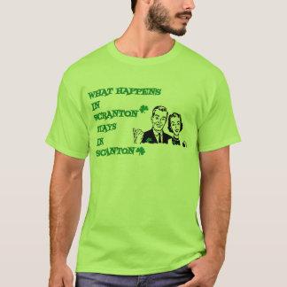 What happens in Scranton Irish Parade Day Shirts
