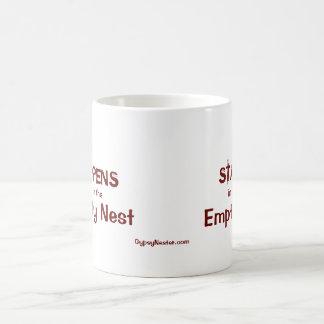 What Happens in the Empty Nest Basic White Mug