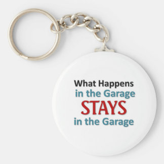 What happens in the Garage Keychain