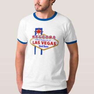 What Happens In Vegas ringer t-shirt