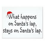 What Happens On Santas Lap Stays On Santas Lap 2 Custom Announcements