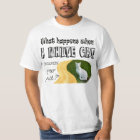 What Happens When A White Cat Crosses Your Path? T-Shirt