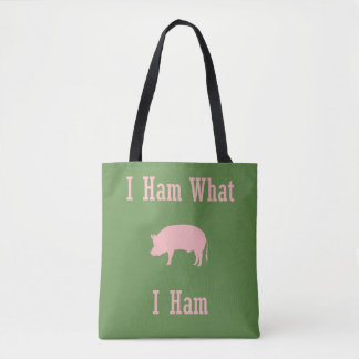 What I Ham Pig Lover Country Tote