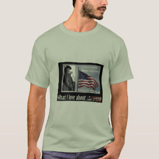 What I Love About America shirt
