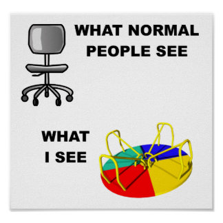 What I See Funny Poster