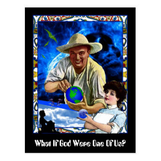 What If God Were One Of Us? Postcard